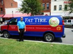 This van was made for Brad.  He loves him some Fat Tire.